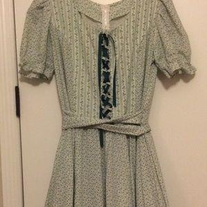 True Vintage  Swiss/Prairie Dress